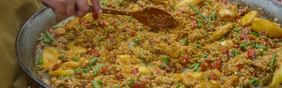 Rice mixing